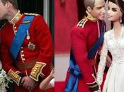 William Kate, anno dopo diventano Barbie Mattel