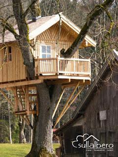 La casa sull 39 albero paperblog for Case in legno sugli alberi