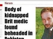 Pakistan, citta' Quetta: decapitato medico della Croce Rossa Internazionale