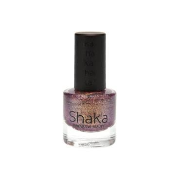 Review Shaka - Golden BlackBerry Nail Polish