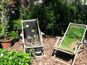 Riciclo creativo green design paperblog - Piccole aiuole da giardino ...