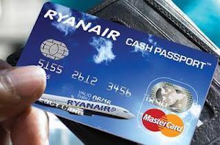 Ryanair Cash Passport ricarica Gratis