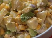 Insalata esotica avocado ananas (Exotic salad with pineapple)