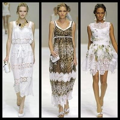 Dolce & Gabbana - Milan fashion week S/S 2011