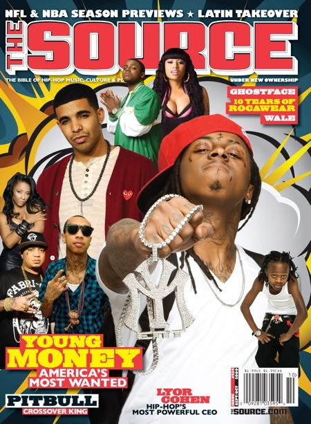 Young Money & Pitbull Covers x The Source