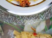 Pasta allo zafferano ragù salsiccia cipolla fondente