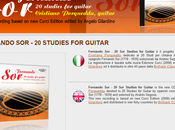 Fernando Studies Guitar Website onLine