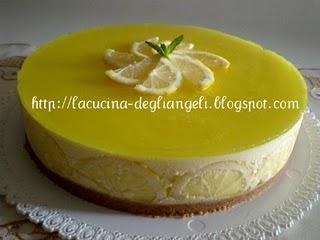 Bavarese al limone