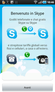 Disponibile Skyper per Android