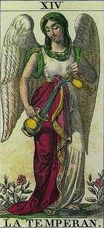 Tarocchi la temperanza arcano maggiore paperblog - Le tavole di thoth ...
