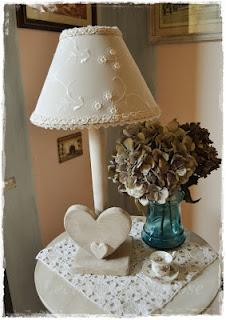 lampade handmade shabby e country chic con amore paperblog