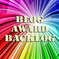 First (and last) blog award