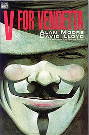 [Recensione] V for Vendetta di Alan Moore e David Lloyd #distopia