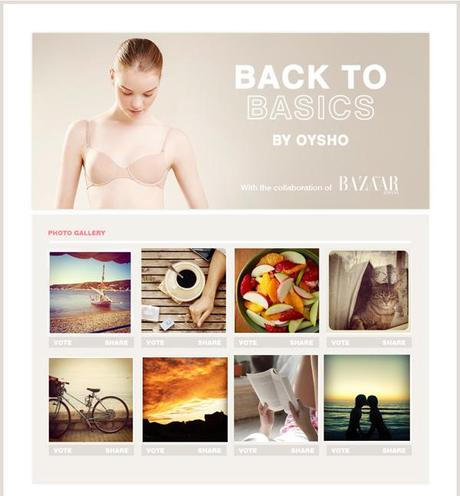 Back to Basic by Oysho: il concorso che coinvolge Instagram