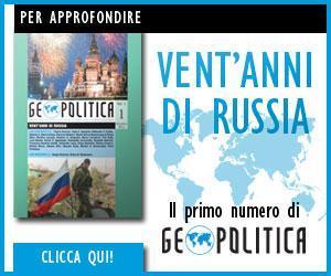 Vent'anni di Russia: il primo numero di Geopolitica