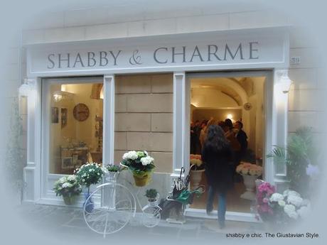 inaugurazione shabby and charme seconda puntata paperblog. Black Bedroom Furniture Sets. Home Design Ideas