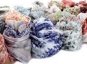 Pyaar: design italiano incontra tradizione manifatturiera indiana sciarpe, stole kefieh tutte indossare