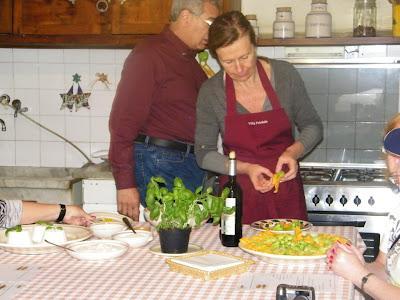 Principio e radice di ogni bene il piacere del ventre scuola di cucina toscana a villa - Scuola di cucina firenze ...