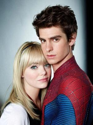 TAGLI DI CAPELLI DAL FILM THE AMAZING SPIDERMAN ANDREW GARFIELD ED EMMA STONE