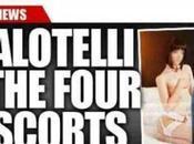 Balotelli dimentica Fico passando notte escort