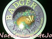 Recensione: night badger balm