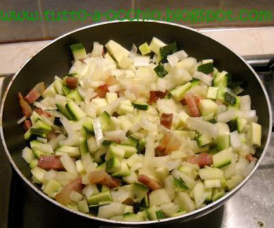 WHB #333 - Lasagne con zucchine, cipolla e pancetta