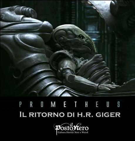 Prometheus: Il Ritorno di H.R.Giger - Paperblog H.r. Giger Prometheus