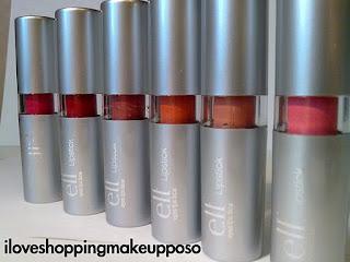 Lipstick E.l.f. linea base (le 6 nuove colorazioni)