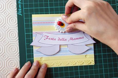 Tutorial illustrato Card Festa della Mamma - Mother's day photo tutorial