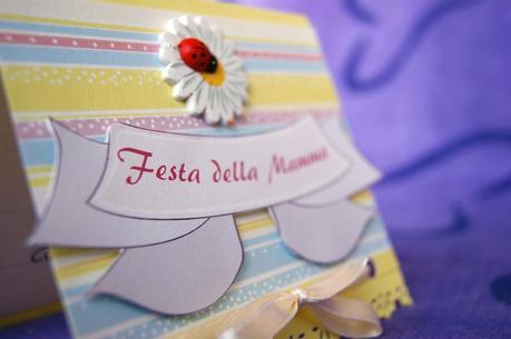 Tutorial illustrato Card Festa della Mamma - Mother's day photo tutorial