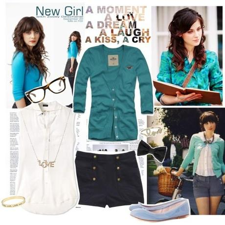 Look ispirato a Zooey Deschanel in New Girl
