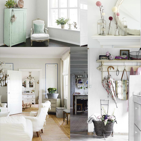 Style of the week shabby chic paperblog for Stile cottage francese
