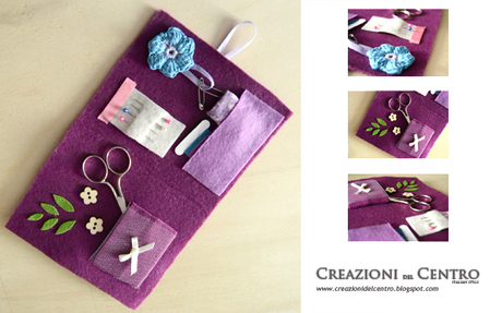 Kit cucito in feltro paperblog for Accessori per cucito