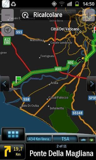 Navigatore GPS offline gratuito CoPilot GPS