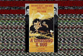 a ciascuno il suo essay After a series of essays another political mystery novel is a ciascuno il suo of 1966 the following year sciascia moved to palermo.