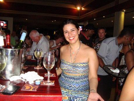 Leila del Lulu Bar alla serata finale del Fiji International Jazz and Blues Festival