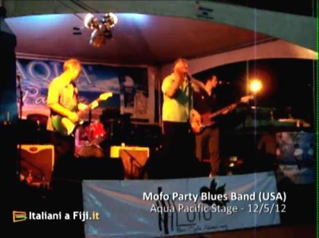 Mofo Party Blues Band al Fiji International Jazz Festival
