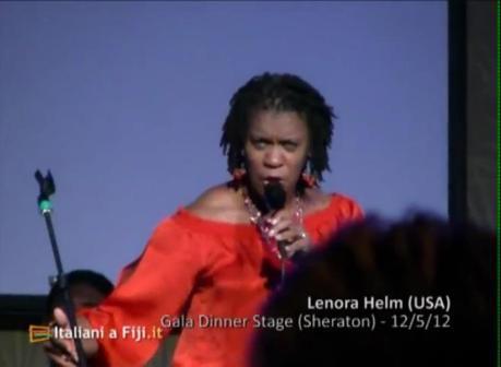 Lenora Helm al Grand Gala