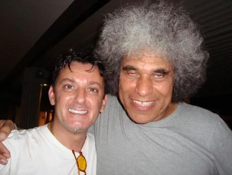 Io e Paul Ubana Jones al Fiji international blues and jazz festival 2012