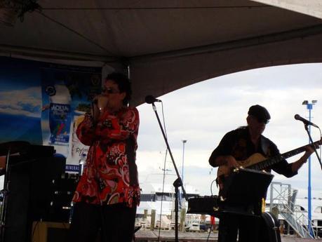 Dorothy Jane Gosper Band al Fiji 2012 International Jazz and Blues Festival