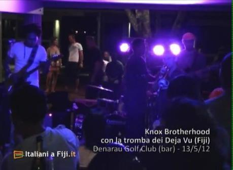 Knox Brotherhood surante la serata finale del Fiji International Jazz and Blues Festival 2012