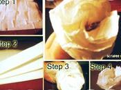 Scrapbooking tutorial: come realizzare rosa carta profumambiente