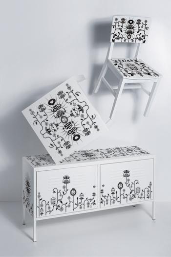 Adesivi per mobili paperblog - Adesivi per decorare mobili ...