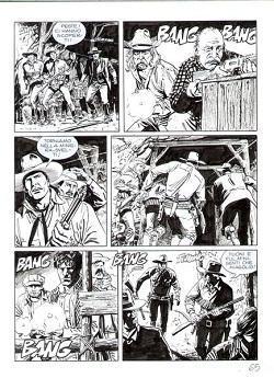 A Cava de'Tirreni (Sa) una mostra dedicata al grande editore di fumetti Sergio Bonelli