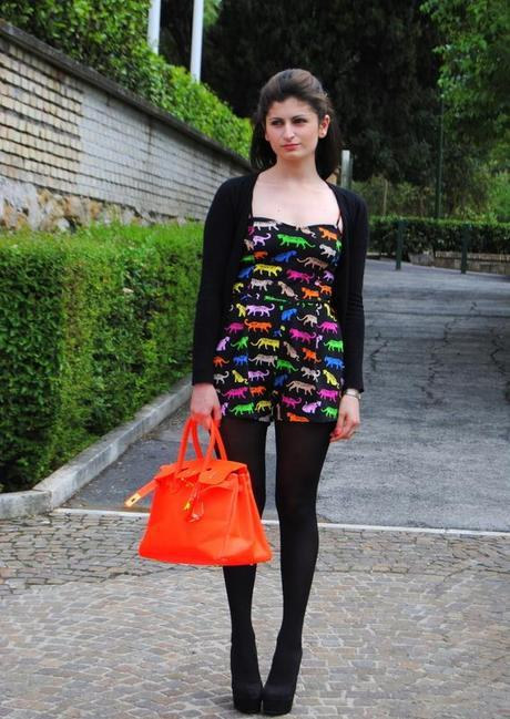 Outfit+Giveaway! Win my same DDLM Neon Bag!