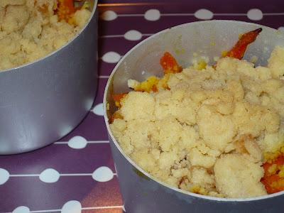 Orange picnic 2#. Crumble di arancia e carote.