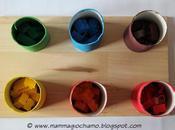 Giochi fai-da-te: imparare colori tubi della carta igienica costruzioni Lego