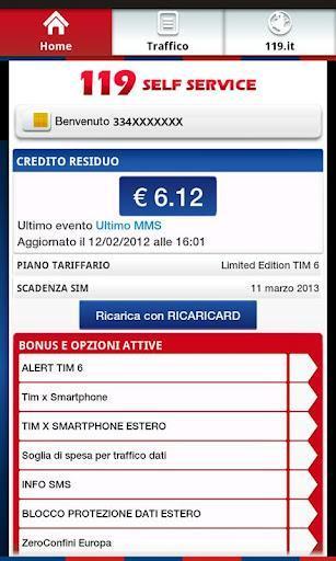 App del giorno: 119 Self Service Tim per Android