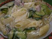 pasta philadelphia pancetta zucchine