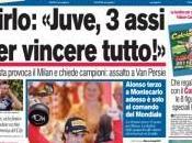 Ecco prime pagine della Gazzetta Corriere dello Sport Tuttosport